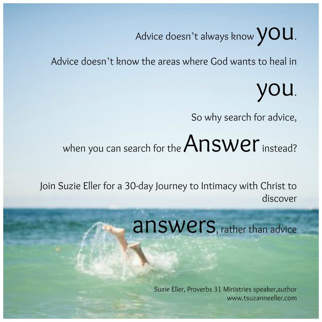 answers rather than advice