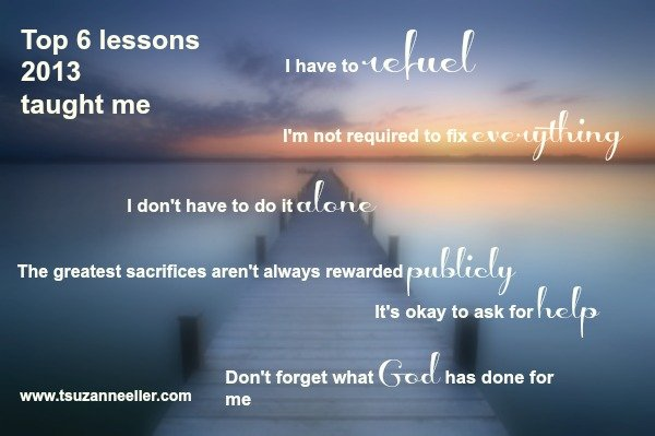 top 6 lessons