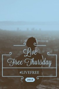 Join Suzie in Live Free Thursday Link Ups