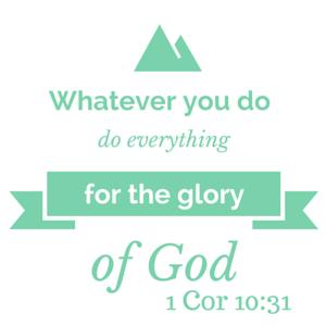 1 Cor 10-31
