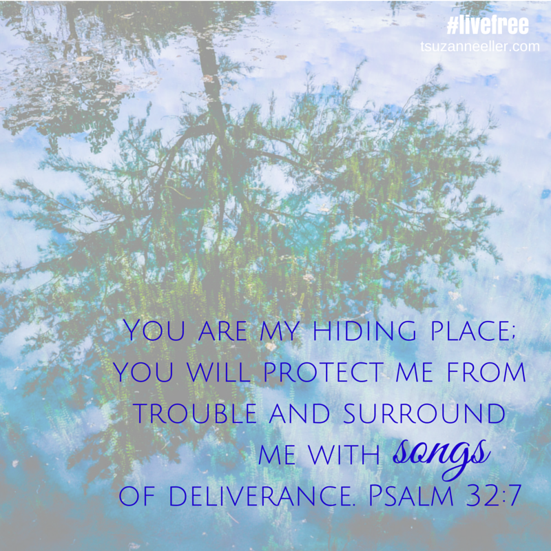 You are my hiding place; you will