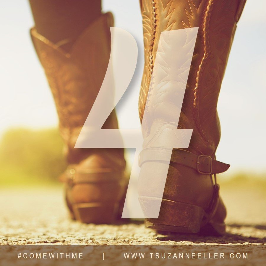 4 more days until #comewithme by Suzanne Eller releases!