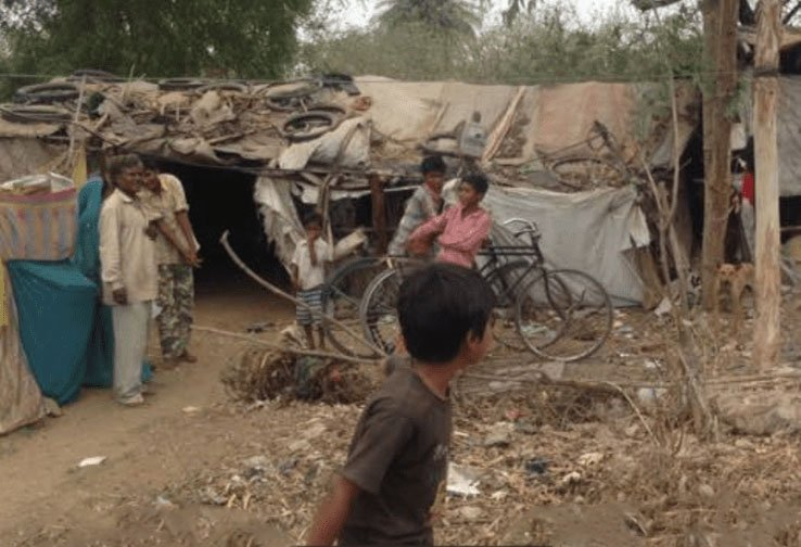 Mission India image - a poor village