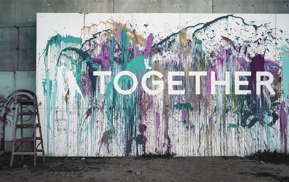 Together wall