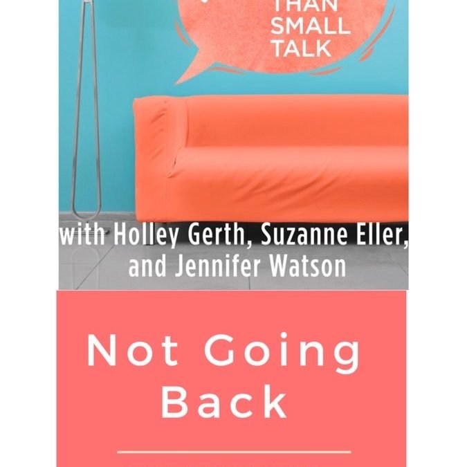 I'm not going back {{and a giveaway}}